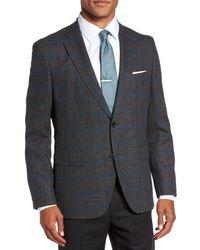 BOSS - Multicolor Jeen Classic Fit Wool Sport Coat for Men - Lyst