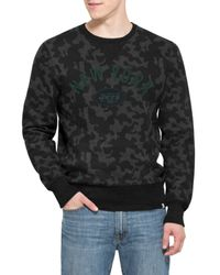 47 Brand | Black 'new York Jets - Stealth' Camo Crewneck Sweatshirt for Men | Lyst