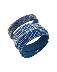 Swarovski - Blue Leisure Bracelet Set - Lyst