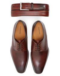 Magnanni Shoes | Brown 'colo' Plain Toe Derby for Men | Lyst