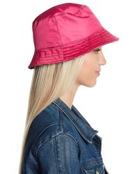 Steve Madden - Blue Reversible Bucket Hat - Lyst