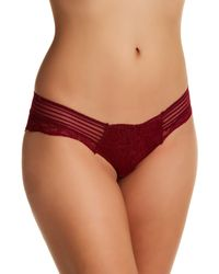 Sam Edelman - Purple Scalloped Lace Hipster Panties - Lyst