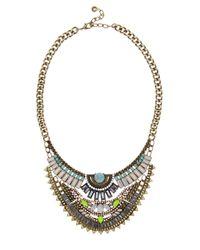 BaubleBar | Multicolor Bella Bib Necklace | Lyst