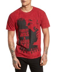 The Rail - Red Good Day Graphic T-shirt for Men - Lyst