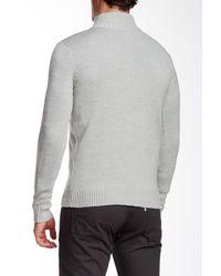 Jimmy Taverniti - Gray Zip Sweater for Men - Lyst