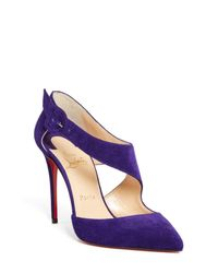 Christian Louboutin - Blue Sharpeta Pump - Lyst