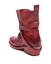 Bed Stu - Red Shill Slouch Leather Boot - Lyst