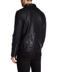 Lamarque | Black The Blade Leather Jacket for Men | Lyst