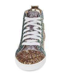 Christian Louboutin Multicolor Bip Bip High Top Sneaker (women)