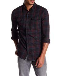 Neuw - Blue Utility Check Dress Shirt for Men - Lyst
