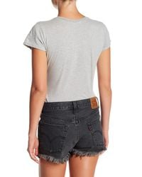 Project Social T - Gray Ny Heart Bug Bodysuit Tee - Lyst
