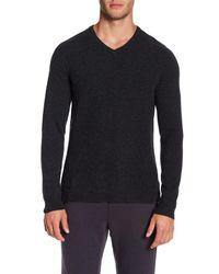 Velvet By Graham & Spencer - Multicolor Cashmere Long Sleeve V-neck Tee for Men - Lyst