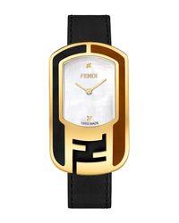 Fendi - Metallic Women's Chameleon Swiss Quartz Diamond Accented Watch, 29mm X 49mm - 0.008 Ctw - Lyst