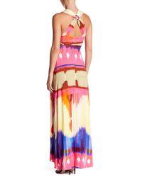 Sky - Multicolor Lyrica Printed Maxi Dress - Lyst