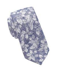 Ben Sherman - Blue Dotted Tie for Men - Lyst