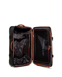 """Timberland - Black Twin Mountain 26"""" Wheeled Duffle for Men - Lyst"""