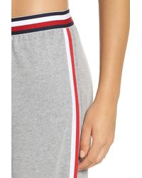 Tommy Hilfiger - Gray Lounge Pants - Lyst