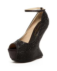 Privileged - Black Salvatore Rhinestone Concave Pump for Men - Lyst