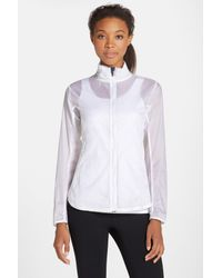 Brooks White Water Resistant Ripstop Jacket