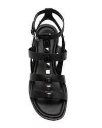Marc Fisher - Black Felice Studded Gladiator Sandal for Men - Lyst