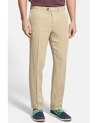 Tommy Bahama - Natural 'la Jolla' Flat Front Pants for Men - Lyst