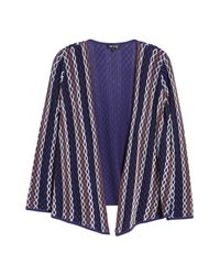 NIC+ZOE - Blue Nic+ Zoe Squiggled Up 4-way Convertible Cardigan - Lyst