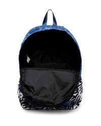 RVCA - Blue Back Side Pr Backpack for Men - Lyst