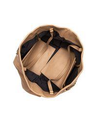Lanvin - Black Sugar Medium Quilted Leather Shopper - Lyst