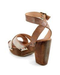 Bed Stu - Brown Kalah Platform Sandal - Lyst
