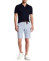 Slate & Stone - Blue Ross Stripe Short for Men - Lyst