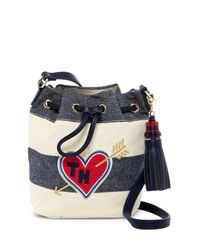 Tommy Hilfiger | Blue Summer Of Love Small Crossbody | Lyst