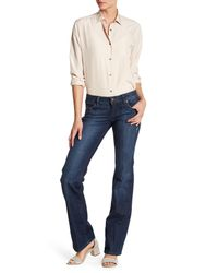 Level 99 - Blue Denim Chloe Bootcut Jean - Lyst
