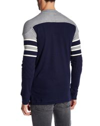 Mitchell & Ness | Blue Nfl Pump Fake Long Sleeve Sweater for Men | Lyst