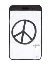 Peace Love World - Black Diaper Backpack - Lyst