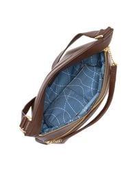 Hobo - Brown Handsoff Leather Crossbody Bag - Lyst