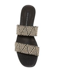 Steven by Steve Madden - Black Friendsy Slide Sandal - Lyst