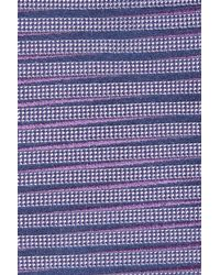 Calibrate - Purple Brewer Stripe Silk Tie for Men - Lyst