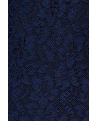 Diane von Furstenberg - Blue 'zarita' Lace Sheath Dress - Lyst