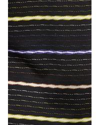 Bugatchi - Black Stripe Polo for Men - Lyst