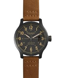 Filson - Metallic Men's The Mackinaw Field Watch, 43mm for Men - Lyst