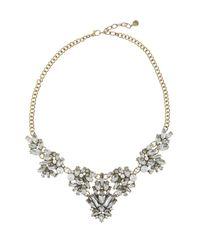 BaubleBar - Metallic Lana Crystal Necklace - Lyst
