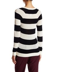 Lands' End - Black Cashmere V-neck Sweater - Lyst
