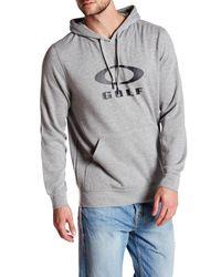 Oakley | Gray Golf Pullover Fleece Sweatshirt for Men | Lyst