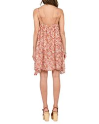 Volcom | Multicolor Laying Low Print Swing Dress | Lyst