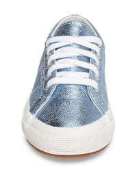 Superga | Blue 2750 Metallic Sneaker | Lyst