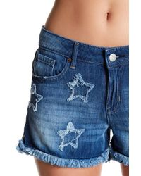 Jessica Simpson | Blue Journey Denim Short | Lyst