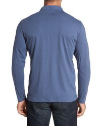 Robert Barakett - Blue 'banff' Regular Fit Polo for Men - Lyst