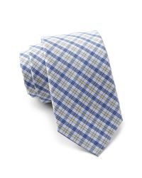 Original Penguin - Yellow Lareau Plaid Tie for Men - Lyst
