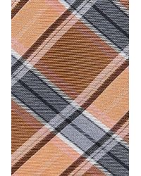Calibrate - Blue Woven Silk Blend Tie for Men - Lyst