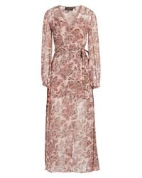 The Fifth Label - Pink Siren Calls Wrap Dress - Lyst